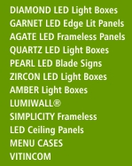 Click here to see the illuminated product range