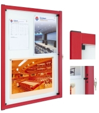 Vitincom Media Poster Case Modern in design and construction.